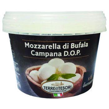 mozzarella bufala terre & tesori