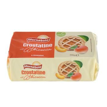 Crostatine albicocca/ cacao