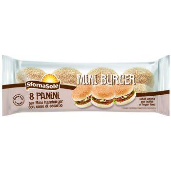 mini burger con semi  sfornasole