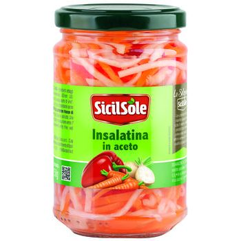 insalatina in aceto  sicilsole