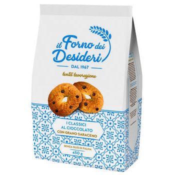 Biscotti cioccolato e grano saraceno/