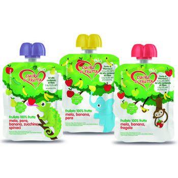 Frullato bio frutta / frutta-verdure